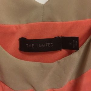 The Limited Dresses - The Limited tan, peach & pink color block dress